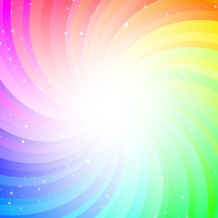 Contexte abstrait coloré.