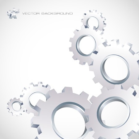 Gear background. Abstract illustration. Stock Vector - 7800830