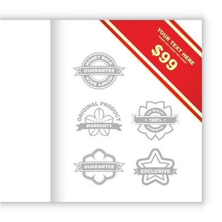 best seller: Set of design elements for sale.