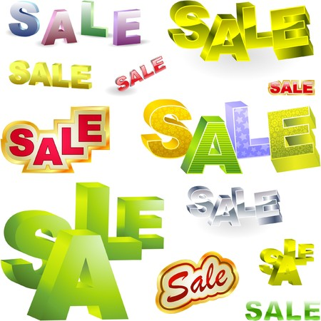 SALE. Great collection. Vector