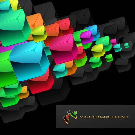 variant: Abstract background with colorful boxes