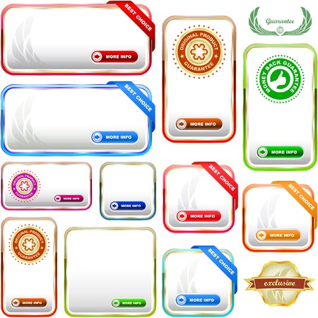 Great collection of sale banners. Vector