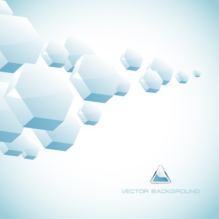 Abstract hexagon background.   Stock Photo - 7880744