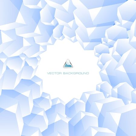 Abstract hexagon background.   photo