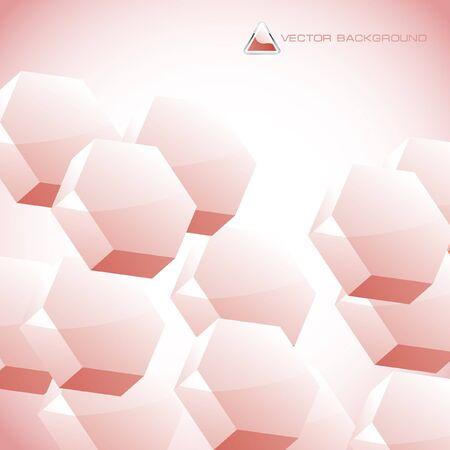 Abstract hexagon background. Stock Photo - 7880752