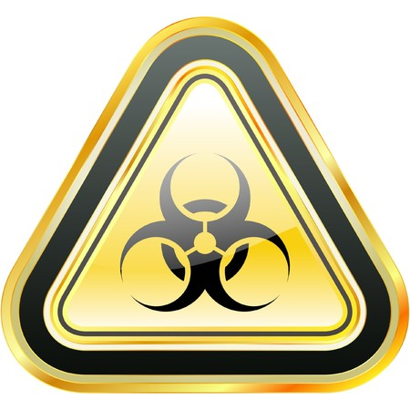 biohazard symbol: Biohazard sign. Stock Photo