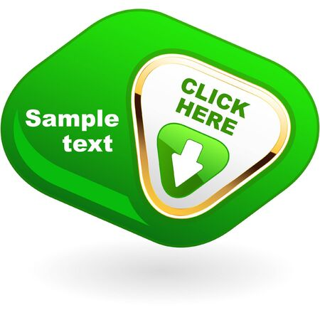 Download button. Stock Photo - 7935692
