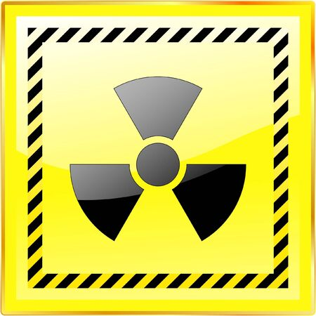 Radioactive sign Stock Photo - 7935702