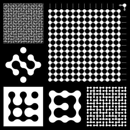 Maze constructor. Vector illustration.     Stock Illustration - 8291942