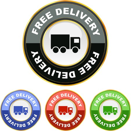 Free delivery elements for sale Stock Photo - 8291928