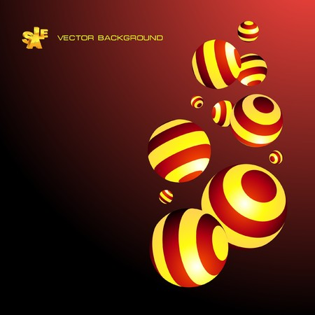Abstract background with circle elements.   photo