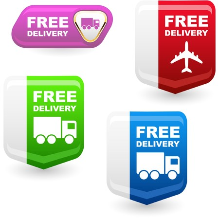 Free delivery elements for sale Stock Photo - 8237911