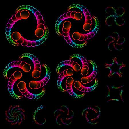 Rainbow design elements Stock Photo - 8237563