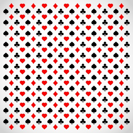 playing card set symbols: Abstract background with card suits.