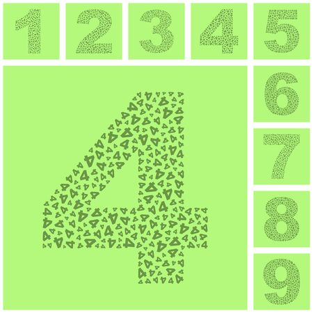 Number signs. Stock Photo - 8236881