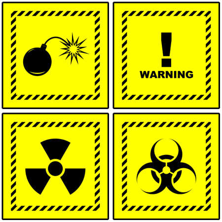 Warning signs. Stock Photo - 8238200