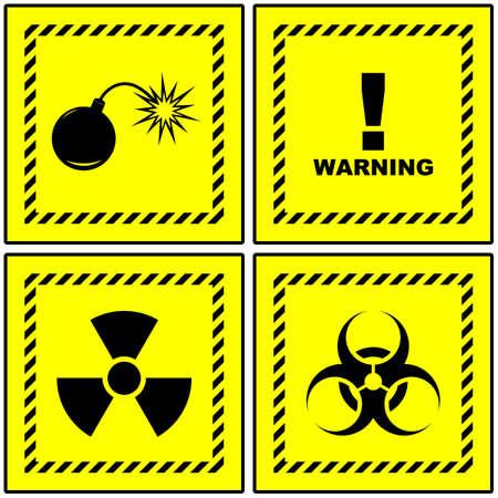 Warning signs. Stock Photo - 8238200