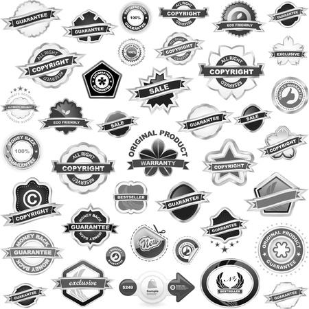 promo: Insieme di elementi di design per la vendita.