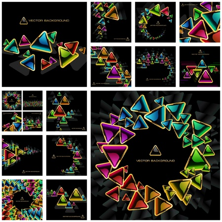 Abstract background. Great collection. Vector