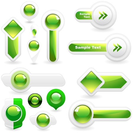 Vector great collection of web elements   Vector