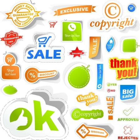 set of sale design elements. Great collection. Stock Vector - 9901787