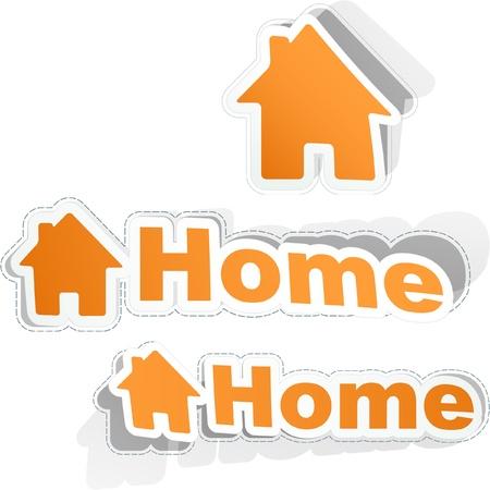 Home Stock Vector - 9142360