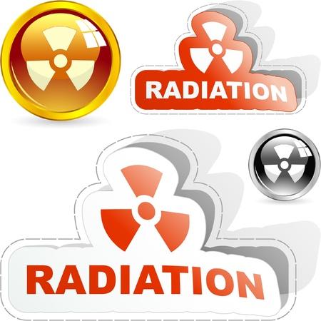 Radioactive signs.