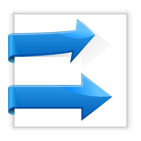 flecha derecha: Flechas Vectores