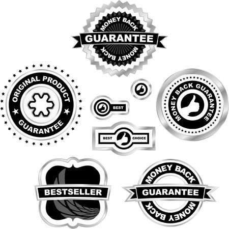 Set of sale labels and tags Stock Vector - 8891251