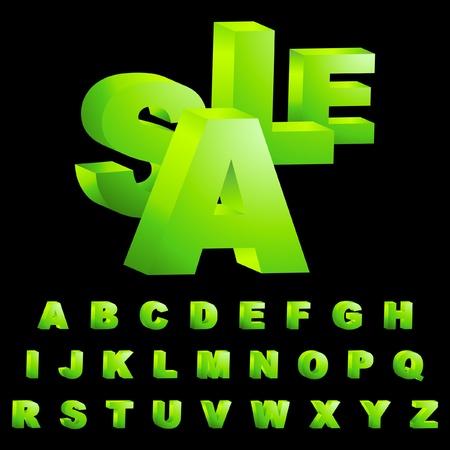 alfabético: ABC. Vector collection.