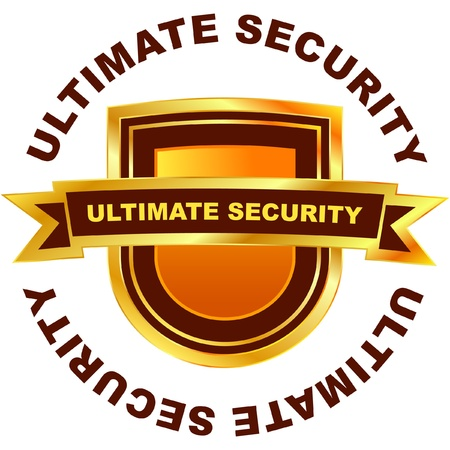 ULTIMATE SECURITY. Vector