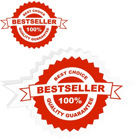 guaranree: Bestseller emblem.