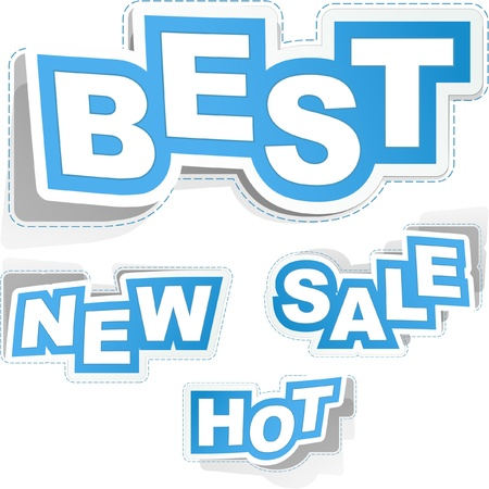 best offer: Sticker set for business,