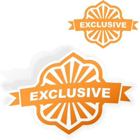 Exclusive vector emblem. Stock Vector - 8890961