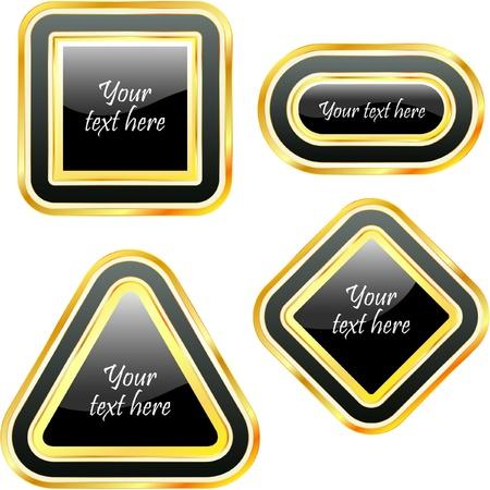 Vector design frames. Stock Vector - 8898649