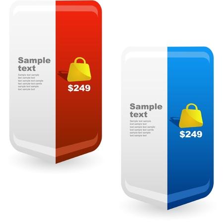 Various sale design elements Stock Vector - 9142386