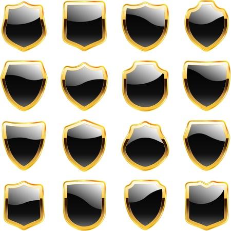 armed: Shield. Illustration