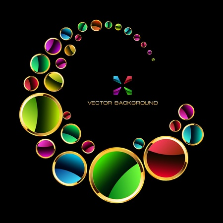 Colorful abstract background. Stock Vector - 9142412