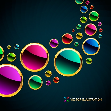 Abstract background. Vector illustration. Stock Vector - 8891211