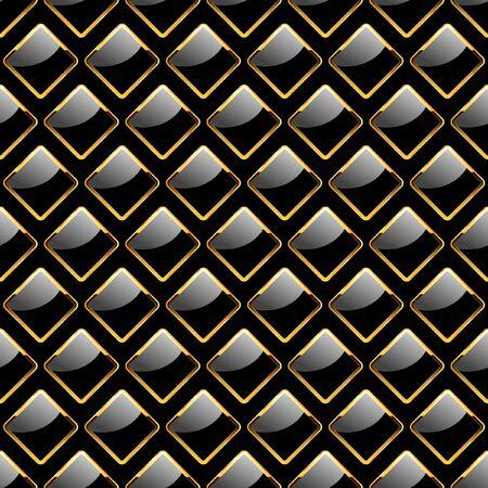 lamiera metallica: Piastra senza soluzione di continuit�. Illustrazione vettoriale.
