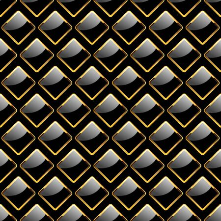 embossed: Seamless plate. Vector illustration.