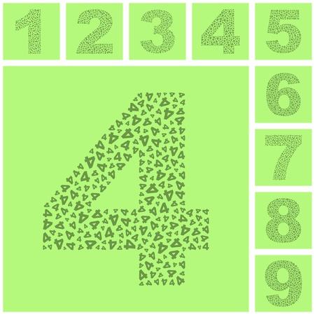 sixth form: Numbers. Illustration