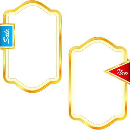 set of web elements. Stock Vector - 9392535