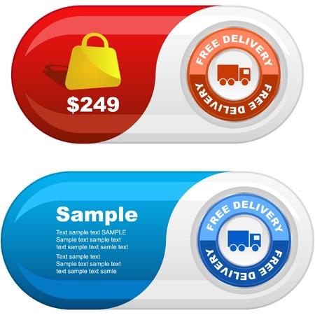 set of sale design elements Stock Vector - 9392559