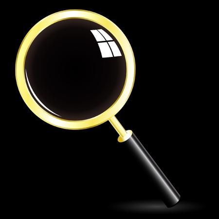 search icon. Stock Vector - 9392572