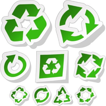 Recycle symbol. Stock Vector - 9392797