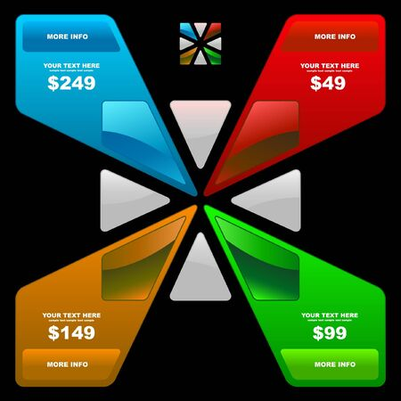 Various sale design elements   Stock Vector - 9040027