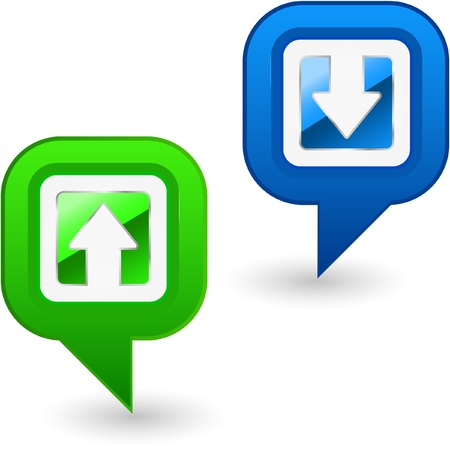 Web elements. Stock Vector - 9402938