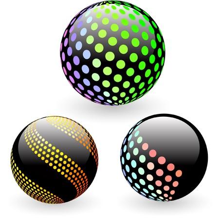 decorate element: Globe. Illustration