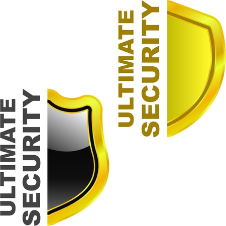 ultimate: Ultimate security. Vector illustration. Illustration